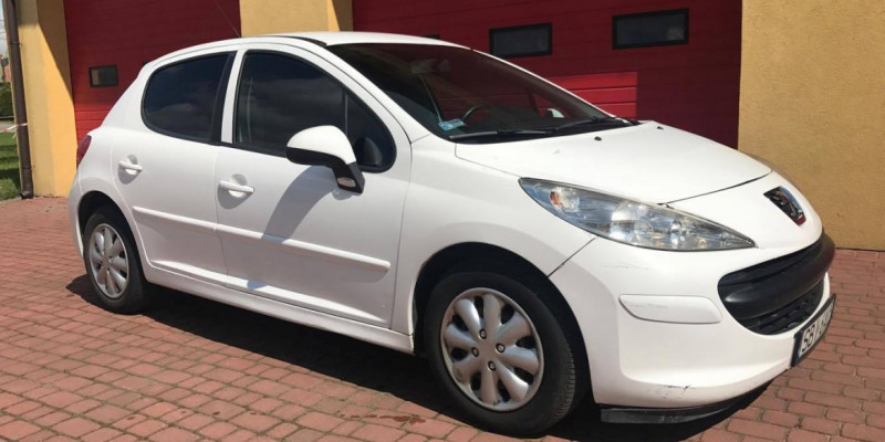 Peugeot 207 benzyna/GAZ